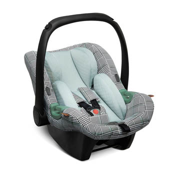 ABC Design Tulip Babyskydd 0-13 kg (Fashion Edition), Smaragd